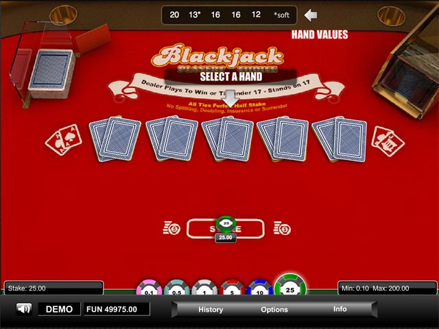 Play Half Double Online Blackjack at Casino.com Australia