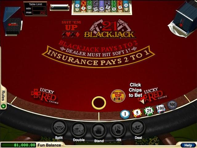 Suit Em Up Blackjack