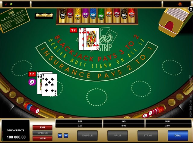 blackjack online games